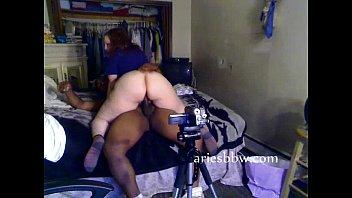AriesBBW rides the dick
