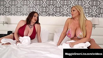 Mega Melon Milfs Maggie Green & Karen Fisher Milk Black Cock