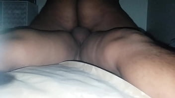 Ebony with nice ass rides me till i bust