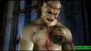 Frankenstein porn Frankensteins monster fucks like crazy 3dx animation