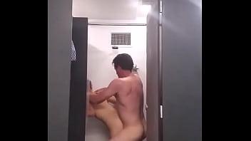 Mariana is caught fucking in the university bathroom.