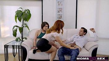MomsTeachSex - Hot MILF Caught Daughter Fucking StepSon S8:E1