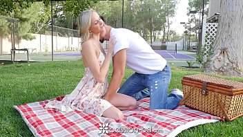 PASSION-HD Picnic date turns into fuck with blonde Emma Hix preview image