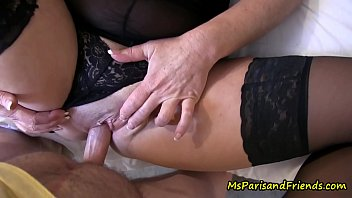 Son Comes Home to Give Mommy a Creampie