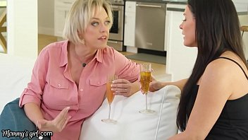 MommysGirl Hot Milf Stepmom India Summer's Discussion Turns Into A Hard Scissoring Foursome