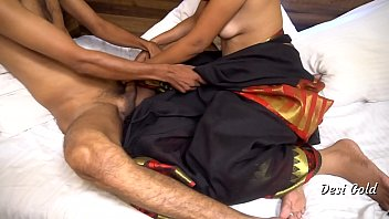 Beautiful Indian Randi Fucked Black Saree