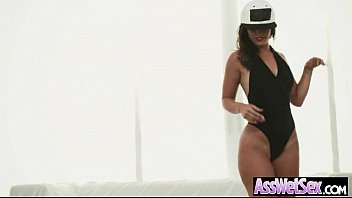 Anal Sex With Big Oiled Wet Butt Girl (kelsi monroe) movie-15