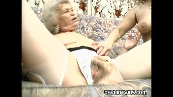 Grandmas devour each other's pussy Thumb