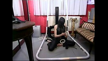 Master taking control of a slave girl