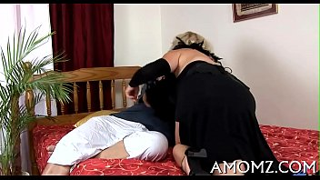 Sultry mom fucked by a sexy chap