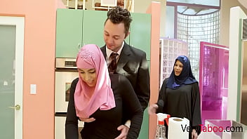 My Repressed Daughter In Hijab Gets Some Daddy Cock- Ella Knox
