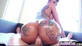 Big Oiled Butt Girl (bella bellz) Get Anal Hardcore Bang vid-09