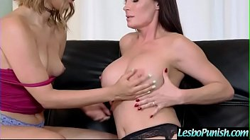 Punish Hard Sex Using Sex Toys Between Lesbians (Diamond Foxxx & Kendall Kross) video-11 preview image