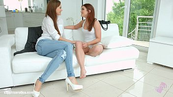 Evalina Darling with Tina Kay having lesbian sex presented by Sapphix - Feet mas