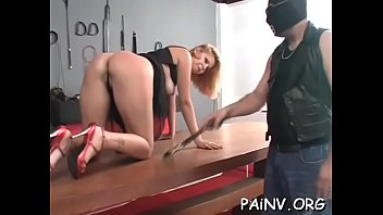 Slut gets a nipple torture session whilst being restrained