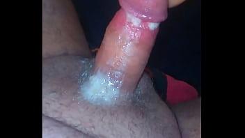 Pissing and cumming in pocketpussy