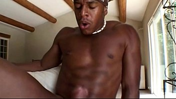 Black workman bangs white horny housewife