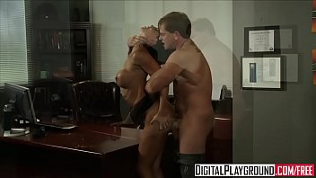 Dirty assistant (Franceska Jaimes) fucks her boss on his desk - Digital Playground preview image