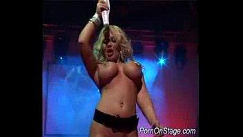 Huge tits blonde dildoing sex