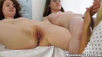 18yo ginger babe bent over for fingering by Mormon MILF