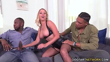 BBC Slut Katie Morgan Has Threesome Sex - Cuckold Sessions