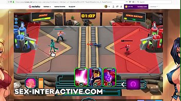 Free cartoon tit Vixen clash gameplay strategy game nutaku gold