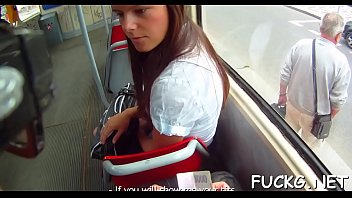 Hardcore ride on a hidden web camera