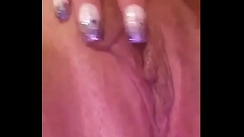Milf getting her pussy ready for Daddy