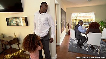 Black dicks fucking girls - Horny black daughter