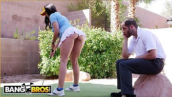 BANGBROS - Rachel Starr Fucks Golf Instructor Behind Her Husband'_s Back!