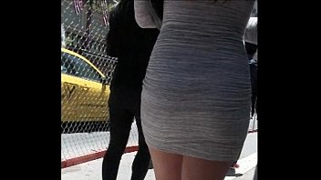 Asian sleek legs Candid asian miniskirt street creepshot