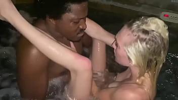 Hot Tub Fun with Daddy Panda