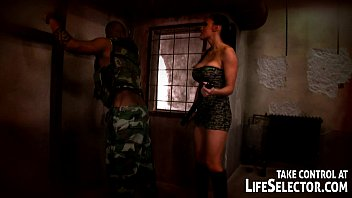 Aletta Ocean gets fucked by a soldier in his wildest hallucinations. image