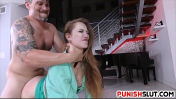 Samantha Hayes restricted and gets fucked deep