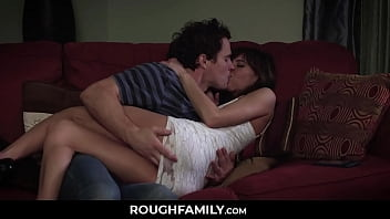 Lone Wife Consoled By Her Husband Son - ROUGHFAMILY.com