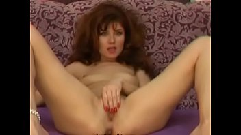 Very hot redhead use two dildo on cam - more on: nighttimehub.com