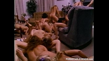 Vintage reproduction toys Sorority lesbians in huge sex orgy