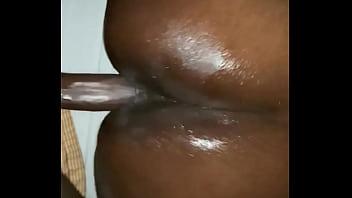 Ebony gf sis gets creampied