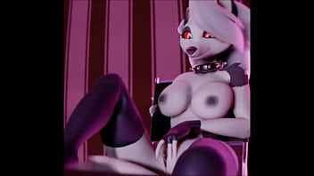 Extended masturbation Loona yiff compilation extended