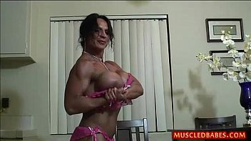 Mature women muscle free porn Kinky fuck with oiled muscled milf