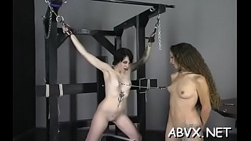 Fetish free trailer - Dilettante chick with valuable assets amazing xxx bondage