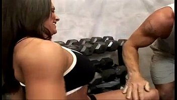 Xxx mmf gym - Fitness milf kristine madison threesome