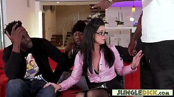 Dr. India Summer Craves Big Black Dongs Up Her Ass