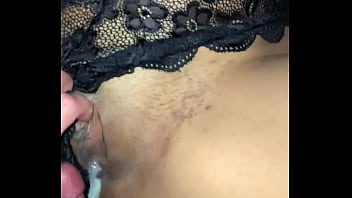 Creampie large tits