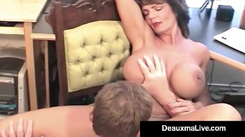 Lucky Hubby Gets To Fuck Texas Milf Deauxma In Her Asshole!