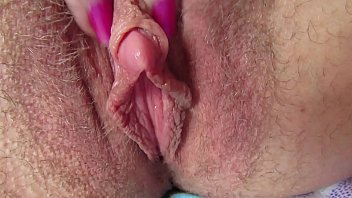 Big clit rubbing and jerking masturbation wet orgasm