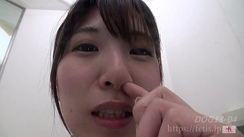 Runny nose and itchy vagina - 犬嗅娘8④鼻ほじり 編