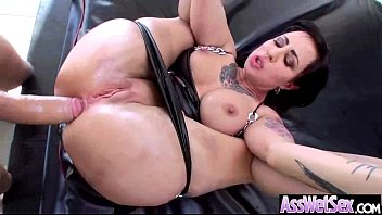 Oiled Big Ass Girl (dollie darko) Take It Deep In Her Behind On Camera clip-07