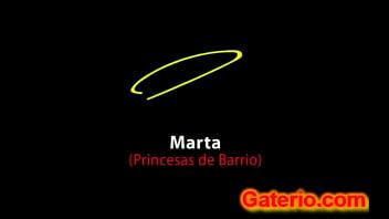 Marta de horna desnuda en princesas de barrio