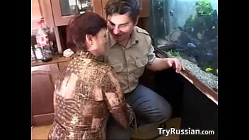 Russian Mother And Her Chubby Young Lover